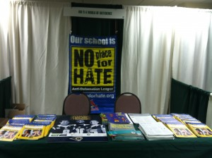 ADL's No Place For Hate anti-bias campaign for schools, just one of the programs presented for the annual MSCA meeting in Branson